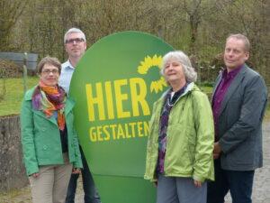 Eva Pestemer, Rainer Klippel, Waltraud Rexroth, Dietmar Johnen